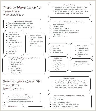 High Scope Lesson Plan Template Pin On Resume Template Free Able