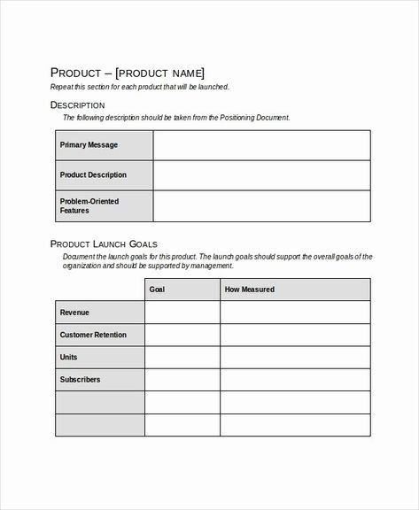 Homeschool Lesson Plan Template Excel Product Launch Plan Template Excel Best Product Launch