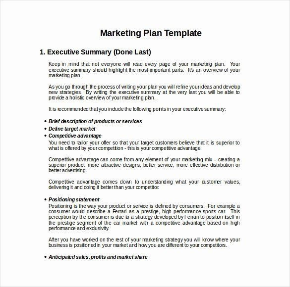 Hotel Marketing Plan Template Hotel Marketing Plan Digital Media In 2020