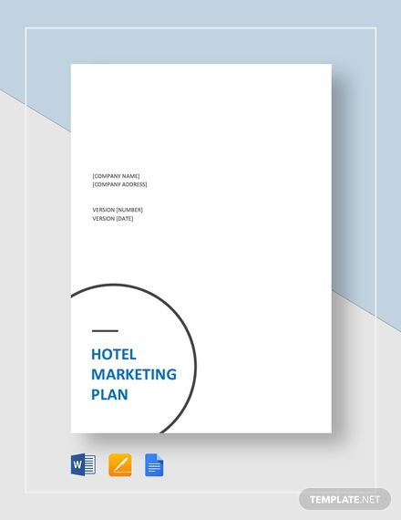 Hotel Marketing Plan Template Hotel Marketing Plan Template In 2020