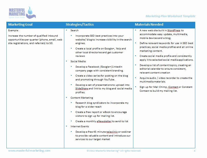 Hotel Marketing Plan Template Marketing Action Plan Template Excel Best Hotel Sales