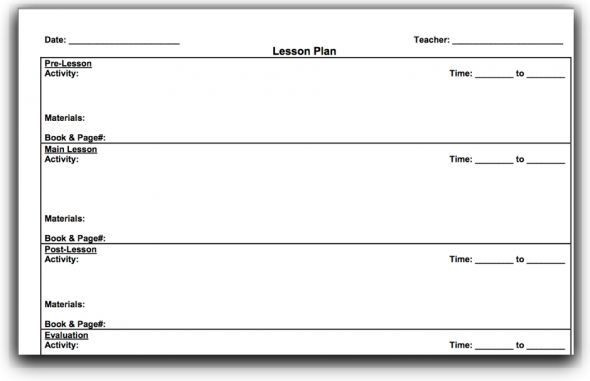 Hunter Lesson Plan Template top 10 Lesson Plan Template forms and Websites
