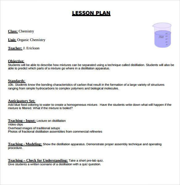 Hunter Model Lesson Plan Template Hunter Lesson Plan Template New Sample Madeline Hunter