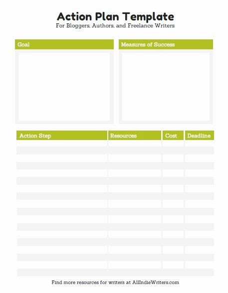 Individual Student Action Plan Template Simple Action Plan Template Lovely 10 Effective Action Plan