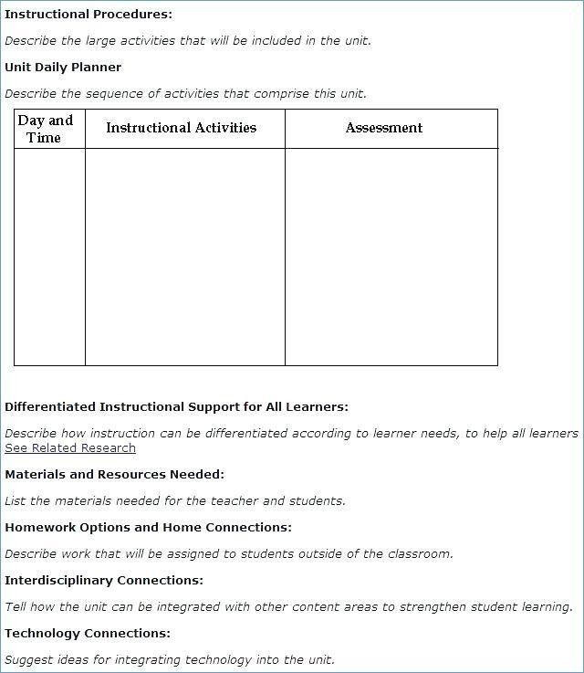 Integrated Lesson Plan Template 20 Integrated Lesson Plan Template In 2020 with Images
