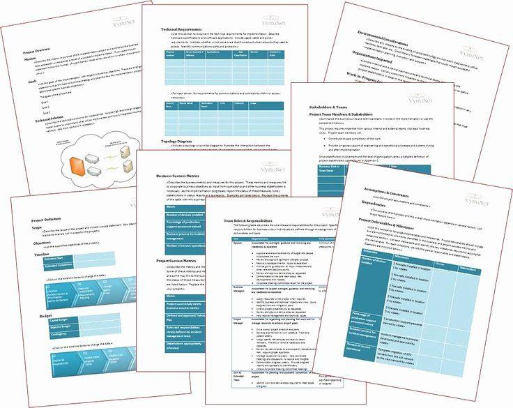 It Infrastructure Project Plan Template Deployment Plan Project Management Elegant It Implementation