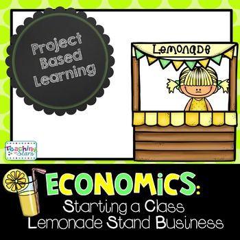 Lemonade Stand Business Plan Template Economics Starting A Class Lemonade Stand