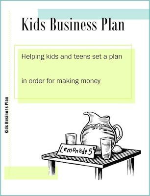 Lemonade Stand Business Plan Template How to Create A Kids Business Plan and What to Do before You