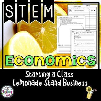 Lemonade Stand Business Plan Template Starting A Class Lemonade Stand Pbl