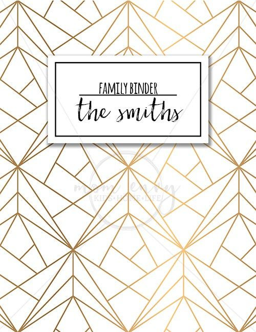 Lesson Plan Binder Cover Template Family Binder Covers Free Planner Covers & Family Binder