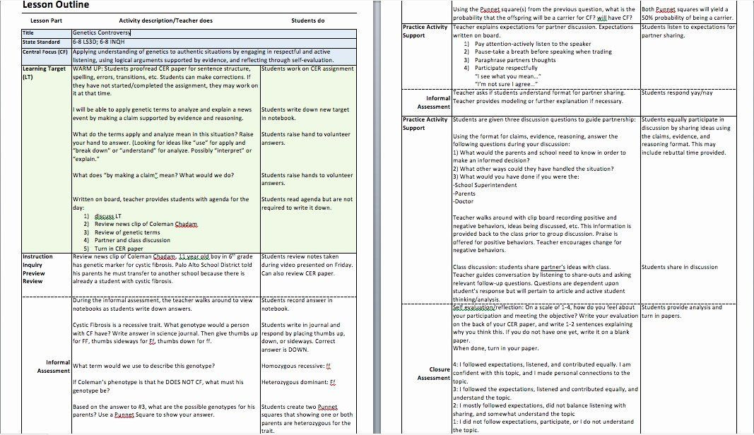 Lesson Plan Template for Edtpa Lesson Plan Template Nyc Unique 98 Lesson Plan Template Nyc