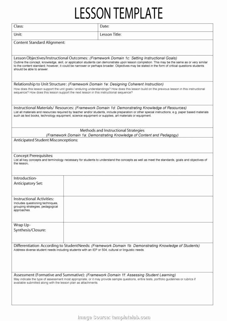 Lesson Plan Template for Edtpa Patient Teaching Plan Examples Lovely Sample assessment Plan