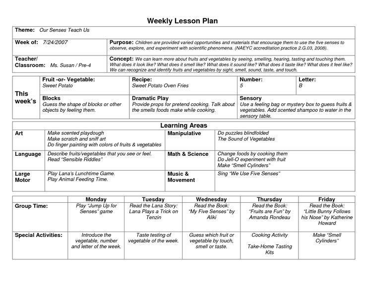 Lesson Plan Template for Kindergarten Image Result for Outer Space themed Preschool Newsletter
