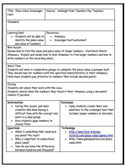 Lesson Plan Template for Math S Media Cache Ak0 Pinimg 736x A7 7e 43