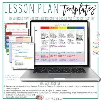 Lesson Plan Template Google Docs now Every Template is Available Fully Editable In the Google