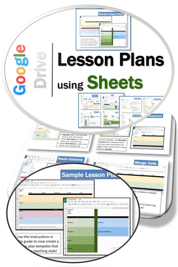 Lesson Plan Template Google Docs Pin On Google