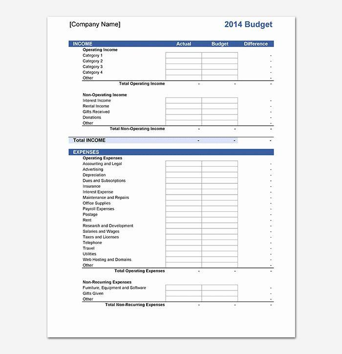 Marketing Plan Budget Template Marketing Plan Bud Template New 20 Marketing Bud