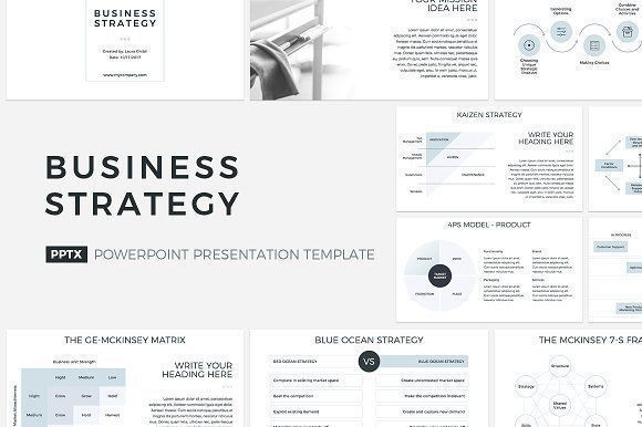 Marketing Plan Presentation Template Business Strategy Powerpoint