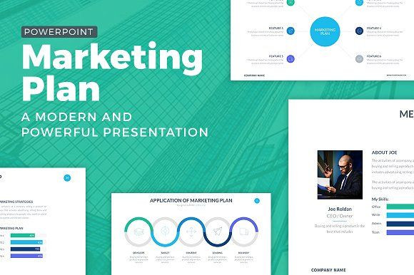 Marketing Plan Presentation Template Marketing Plan Powerpoint Template by Slidepro On