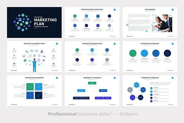 Marketing Plan Presentation Template Marketing Plan Powerpoint Template Presentations