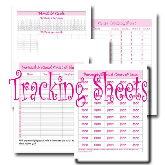Mary Kay Business Plan Template Direct Sales Tracking Sheets for Consultants Etsy