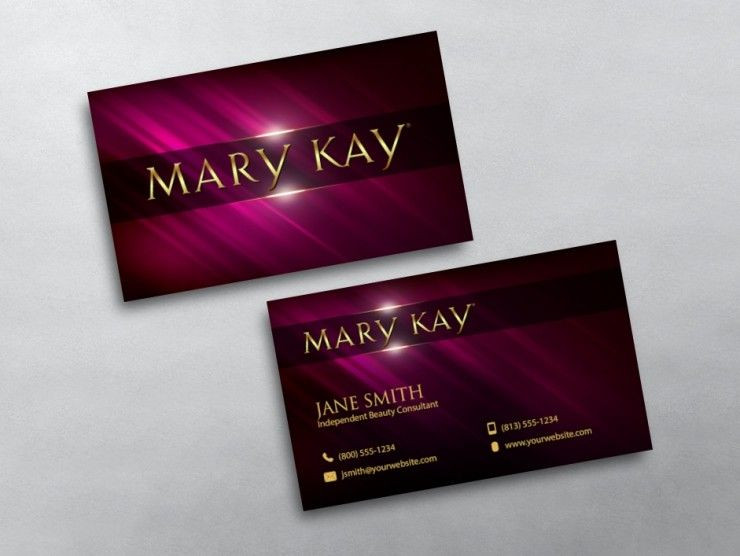 Mary Kay Business Plan Template Mary Kay Business Cards Free Shipping