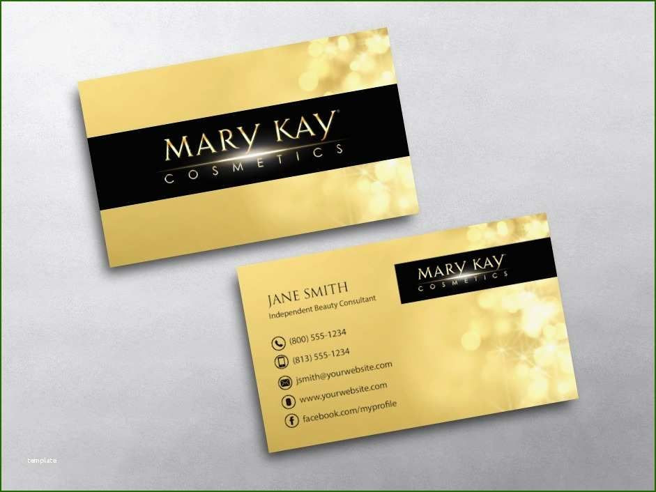 Mary Kay Business Plan Template Mary Kay Business Cards In 2020
