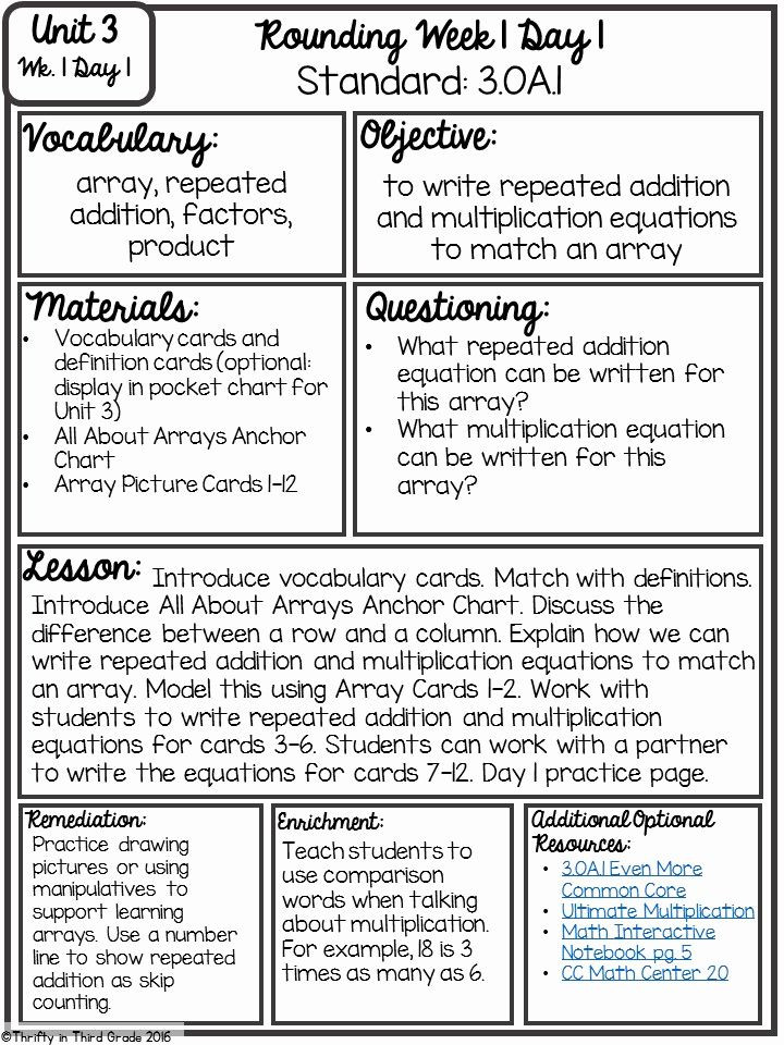 Math Lesson Plan Template Gradual Release Lesson Plan Template Guided Math Set Up