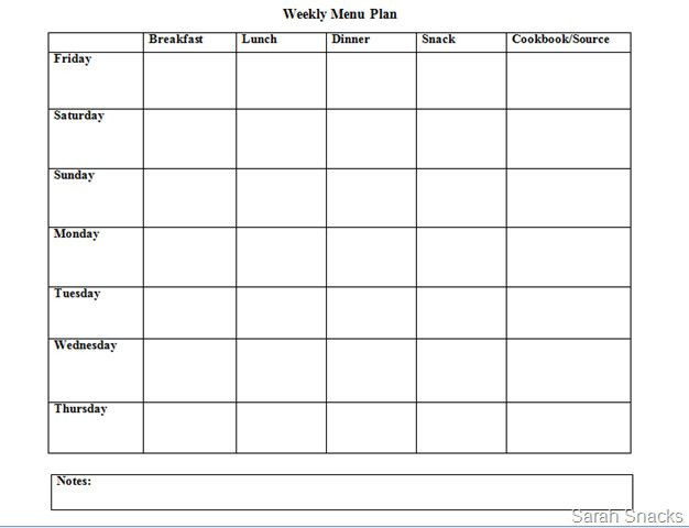 Meal Planning Template Google Docs Meal Planner Template Google Docs Inspirational Meal Planner