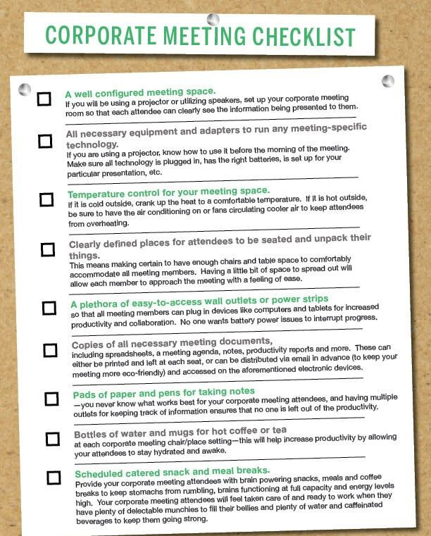 Meeting Planner Checklist Template Great Checklist to Help Plan for A Corporate Meeting
