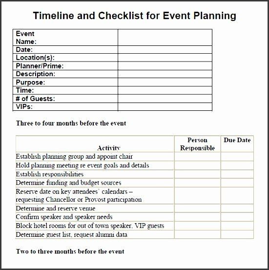 Meeting Planner Checklist Template Meeting Planner Checklist Template Lovely 7 Party Planning