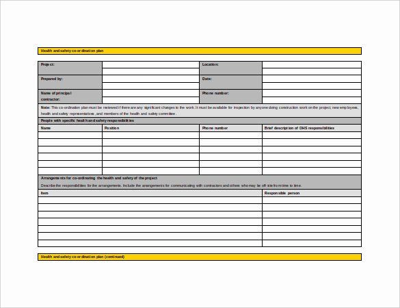 Mental Health Safety Plan Template Health and Safety Plan Template Luxury 13 Health and Safety