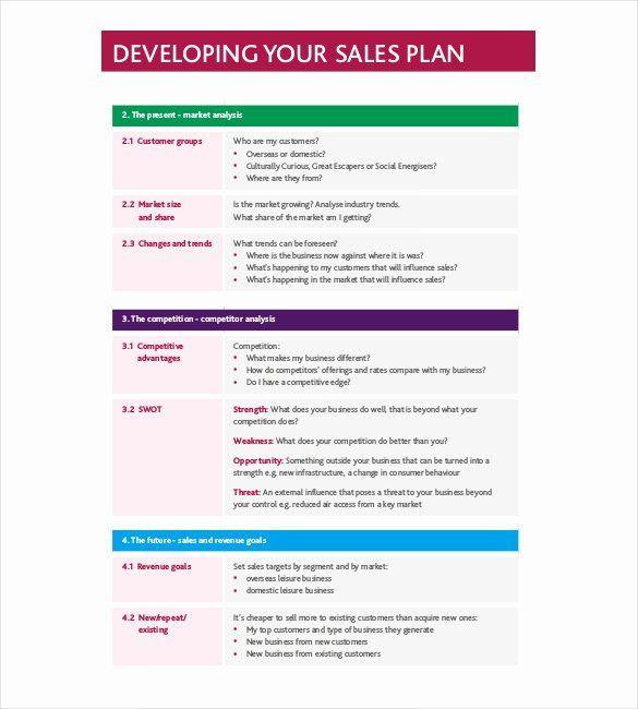 Microsoft Word Strategic Plan Template Sales Strategy Plan Template New Strategy Template – 19 Free