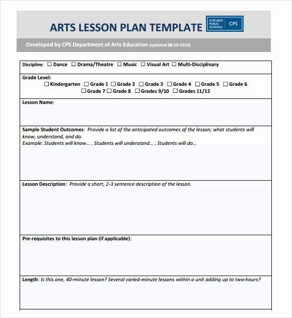Middle School Lesson Plan Template Robert Marzano Lesson Plan Template Beautiful Marzano Lesson