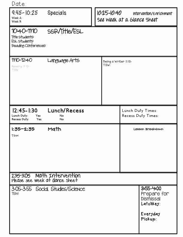 Mini Lesson Plan Template Mini Lesson Plan Template Elegant Guided Writing Lesson Plan