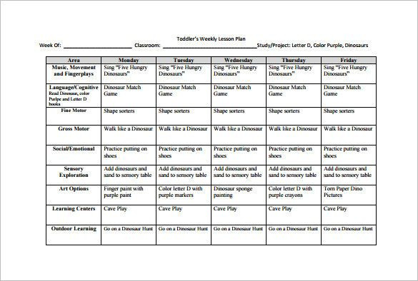 Monthly Lesson Plan Template Pdf Monthly Lesson Plan Template Pdf Fresh Weekly Lesson Plan