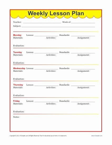 Naeyc Lesson Plan Template Pin On Business Action Plan Templates