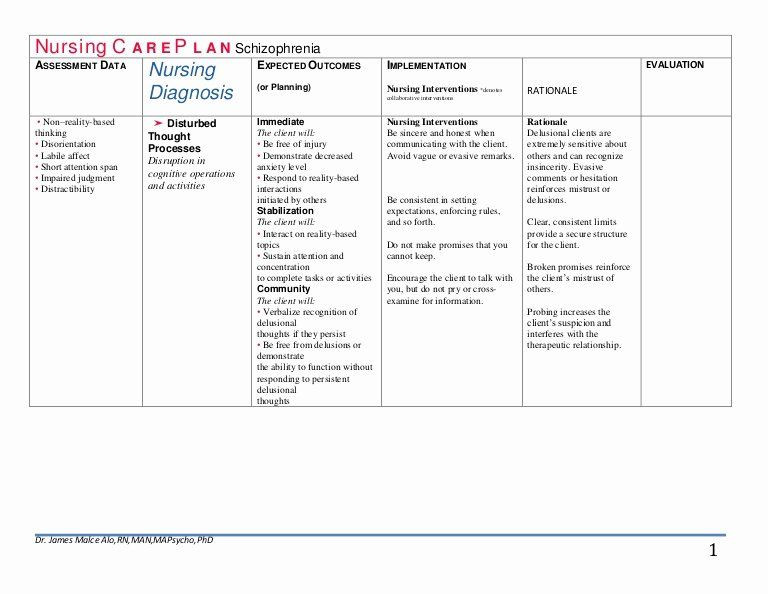 Nursing Care Plan Template Pdf Patient Teaching Plan Examples Beautiful Nursing