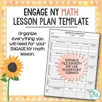 Nys Lesson Plan Template This Lesson Plan Template Will Help You organize Everything