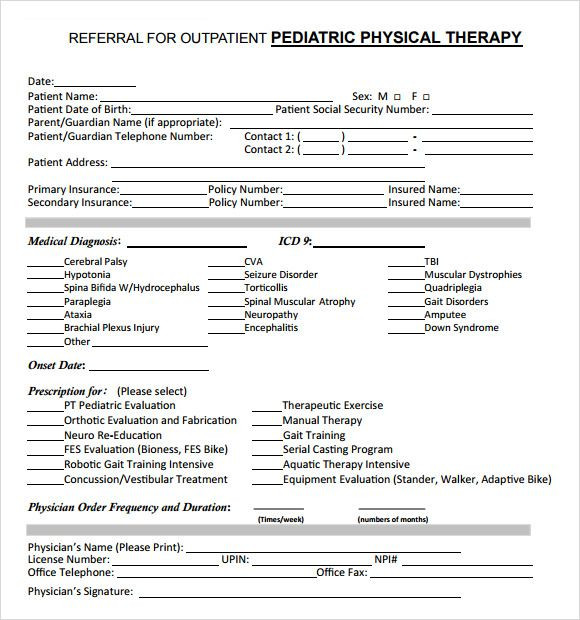 Occupational therapy Treatment Plan Template Pin by هبه On Paediatric