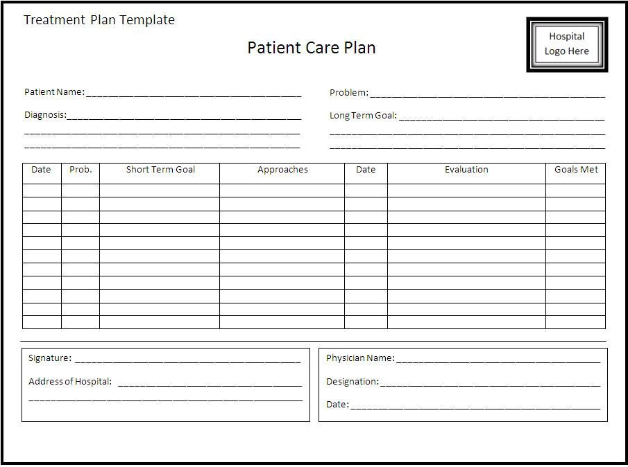 Occupational therapy Treatment Plan Template Pin On Xfinity Bill Template