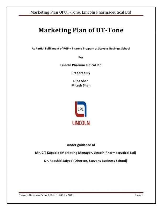 One Page Marketing Plan Template Simple E Page Business Plan Template
