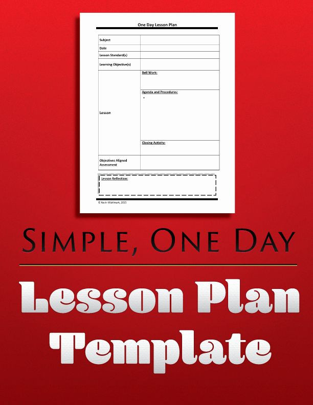 Otes Lesson Plan Template Otes Lesson Plan Template Lovely Simple E Day Lesson Plan