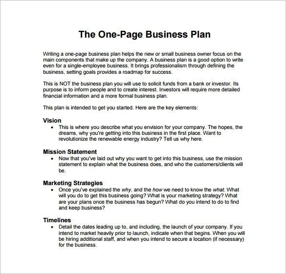 Pages Business Plan Template Business Plan Template Pdf Free 29 Business Plan