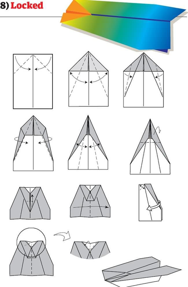 Paper Airplane Template How to Build the World S Best Paper Airplanes