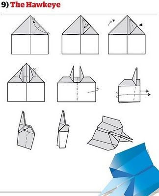 Paper Airplane Template How to Fold 12 Awesome Paper Planes
