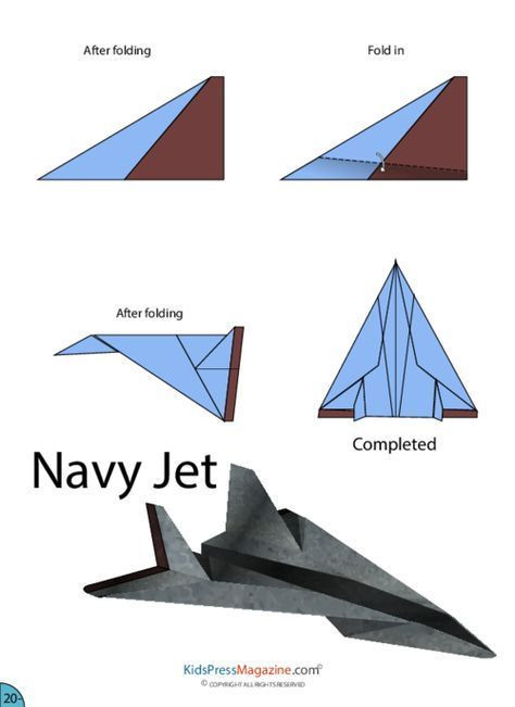 Paper Airplane Template Paper Airplane Instructions – Navy Jet Kidspressmagazine