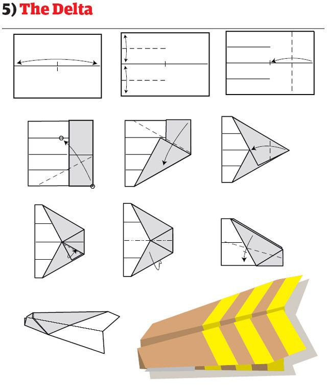 Paper Airplane Template Paper Airplanes How to Fold and Create Paper Airplanes
