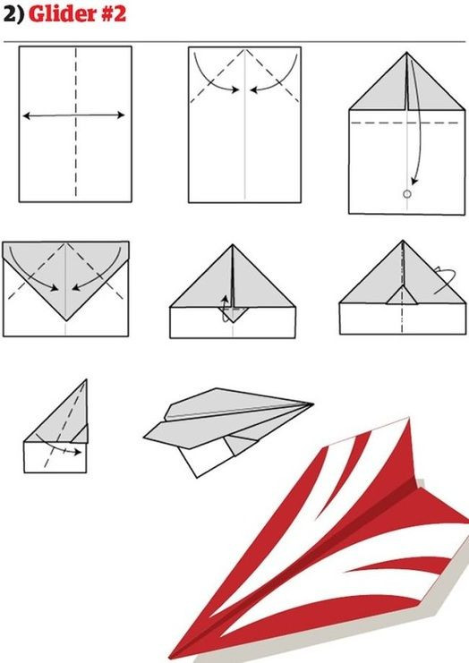Paper Airplane Template Paper Airplanes