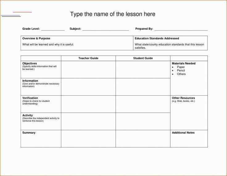 Pe Lesson Plan Template Blank Physical Education Lesson Plan Template Luxury Blank Lesson